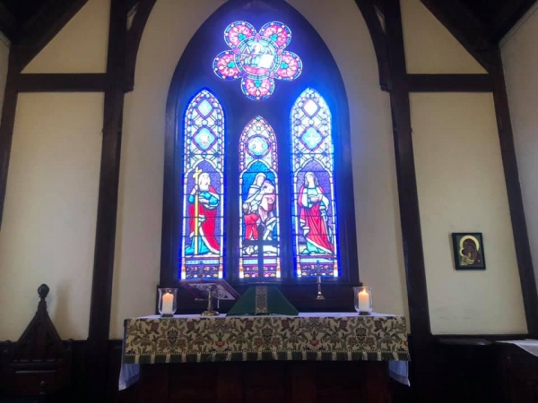 Wednesday Eucharist at Noon in the Church